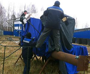Укрытие (палатка) для сварщика типа «ШАТЕР»