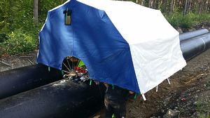 Укрытие (палатка) для сварщика типа «СФЕРА»
